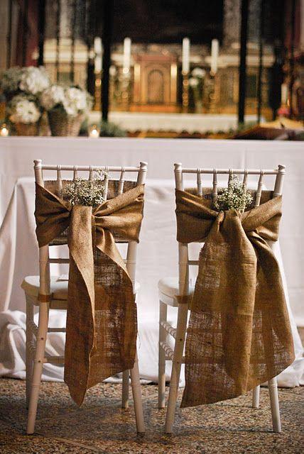 le sedie degli sposi