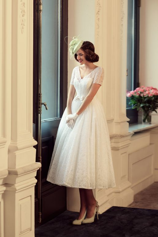 guanti da sposa